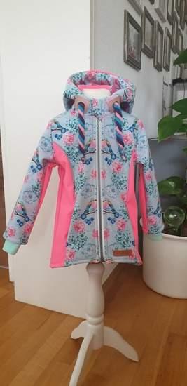 Makerist - Softshell Jacke in Größe 104 - 1