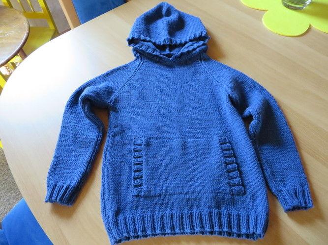 Makerist - Hoodie für Jungen - Strickprojekte - 1