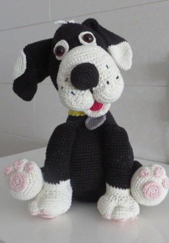 Makerist - Flecki der Hund - Häkelprojekte - 1