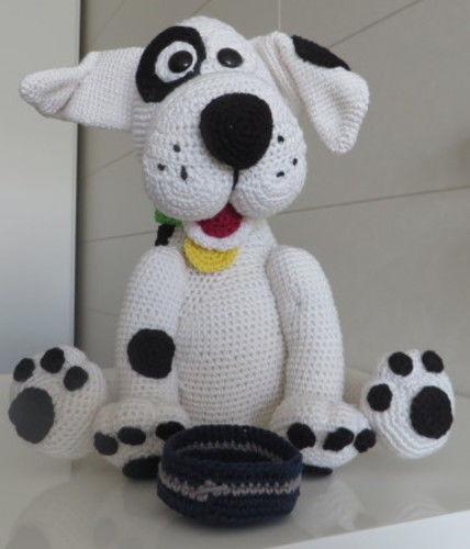 Makerist - Flecki der Hund - Häkelprojekte - 2