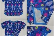 Makerist - Schickes T-Shirt mit Schleife Gr. 116 - 1