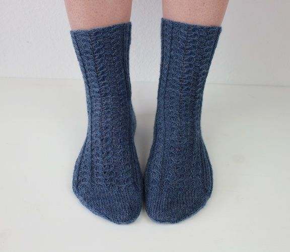 Makerist - Socken Herzlein - Strickprojekte - 1