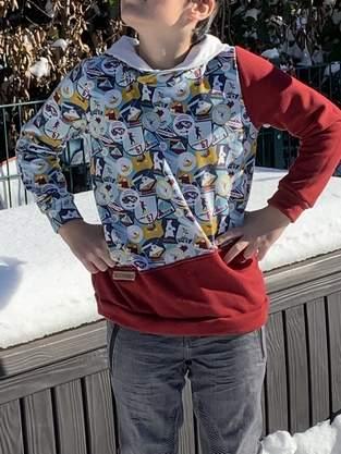 Makerist - Hoodie aus Sommerswear für Jungs - 1