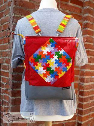 Square-Bag von SaBa'Style meets Backpack
