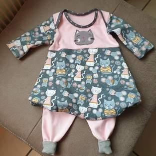 Makerist - Baby-Ballonkleid Katharina Gr. 62 - 92 von Engelinchen - 1