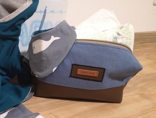 Makerist - Kosmetiktasche als Teil eines Babygeschenks - Nähprojekte - 1