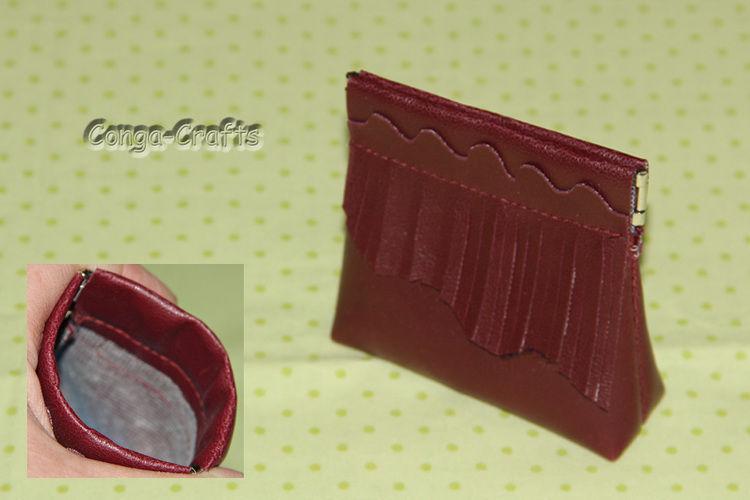 Makerist - DIY Schnappverschlusstasche aus Kunstleder + Schnitt erstellen - DIY-Projekte - 2