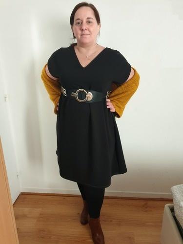 Makerist - Ma robe eole en double crèpe noir  - Créations de couture - 1