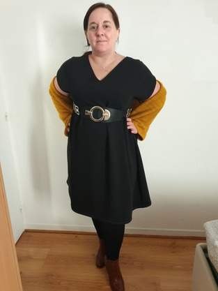 Makerist - Ma robe eole en double crèpe noir  - 1