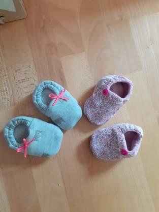 Makerist - chaussons de bébé pour ma future nièce - 1