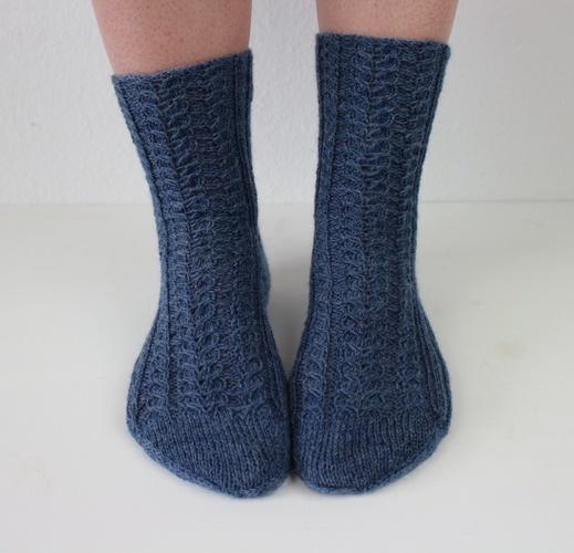 Makerist - Socks Herzlein - Knitting Showcase - 1