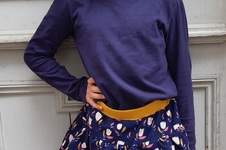 Makerist - Stufenrock Chiara mit Tulpen - 1