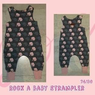 Rock a Baby Strampler