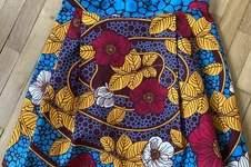 Makerist - Jupe Monceau en Wax - 1