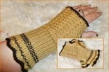 """Makerist - Handstulpen """"chameau"""" - 1"""