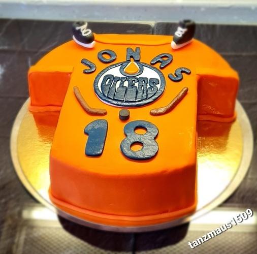 Makerist - Trikot Torte - Torten, Cake Pops und Cupcakes - 1