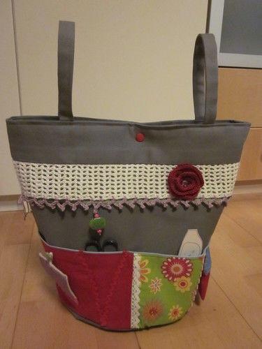 Makerist - Utensilo für Häkel- und Strickzeugs - Nähprojekte - 1