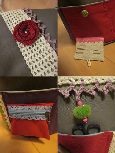 Makerist - Utensilo für Häkel- und Strickzeugs - Nähprojekte - 2