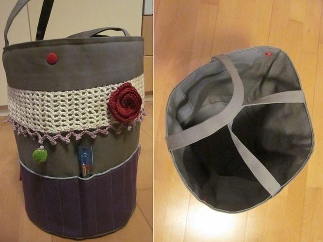 Makerist - Utensilo für Häkel- und Strickzeugs - Nähprojekte - 3