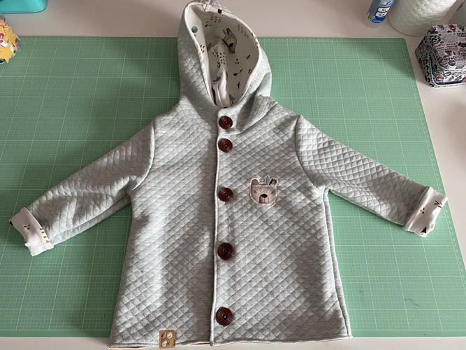 Makerist - Sweet little Jacket - Nähprojekte - 1