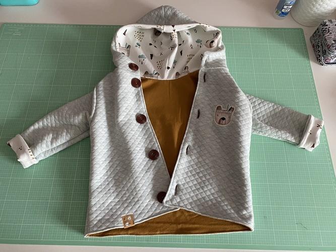 Makerist - Sweet little Jacket - Nähprojekte - 2