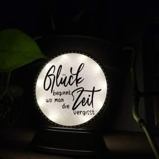 Leuchte mit Datei