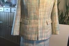 Makerist - Türkis Sommerbaumwolle-Bouclé Jacke im Chanel Stil  - 1