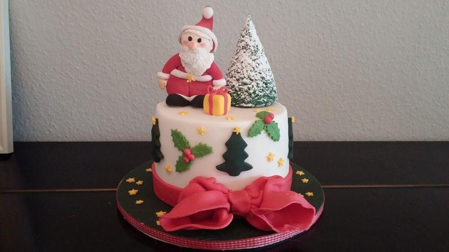 Makerist - Weihnachstorte - Torten, Cake Pops und Cupcakes - 1