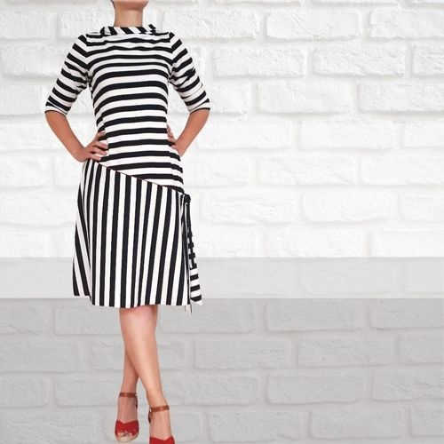 Makerist - Dress Gisell with Jersey for Women - Sewing Showcase - 1