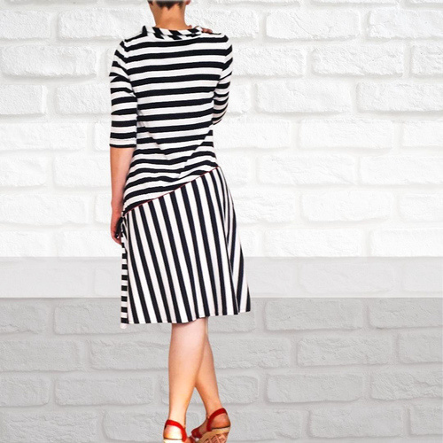 Makerist - Dress Gisell with Jersey for Women - Sewing Showcase - 3
