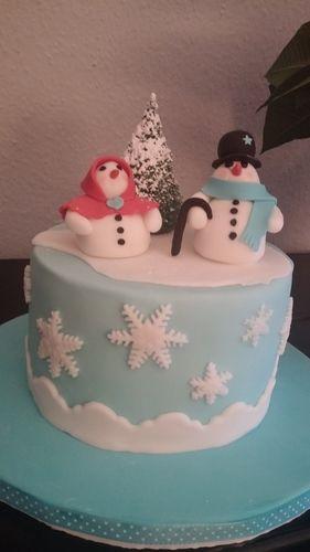 Makerist - Wintertorte - Torten, Cake Pops und Cupcakes - 1