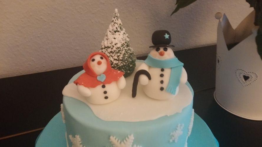 Makerist - Wintertorte - Torten, Cake Pops und Cupcakes - 2
