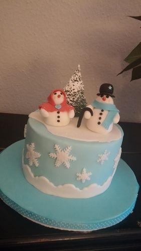 Makerist - Wintertorte - Torten, Cake Pops und Cupcakes - 3