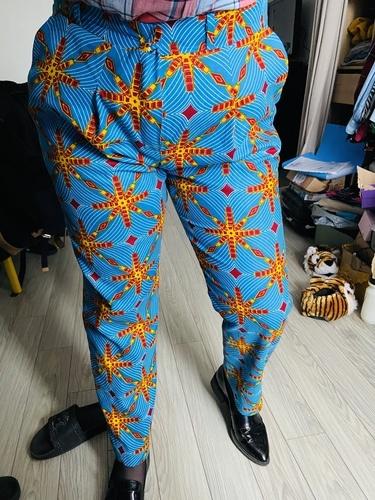 Makerist - Pantalon tailleur en wax - Créations de couture - 1