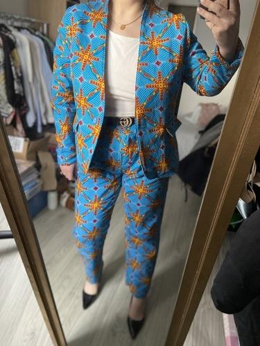 Makerist - Pantalon tailleur en wax - Créations de couture - 2