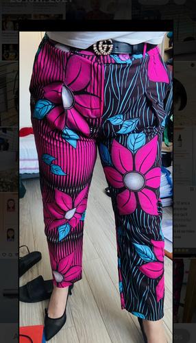 Makerist - Pantalon à pinces en wax - Créations de couture - 2