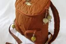 Makerist - Rucksack Juna aus Oilskin für Oma - 1