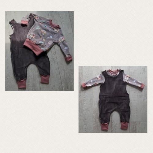 Makerist - Rock a Baby Strampler  und Freebook Raglan  - Nähprojekte - 1