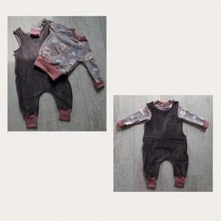 Makerist - Rock a Baby Strampler  und Freebook Raglan  - 1