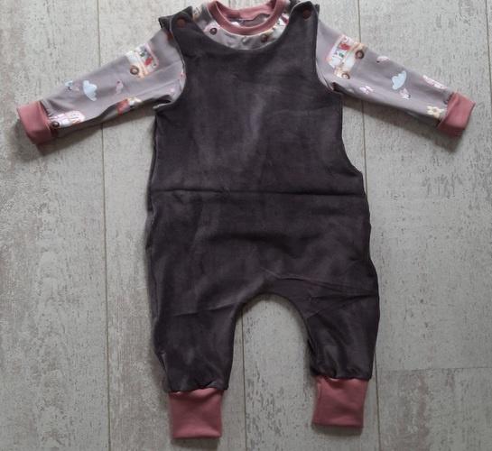 Makerist - Rock a Baby Strampler  und Freebook Raglan  - Nähprojekte - 3