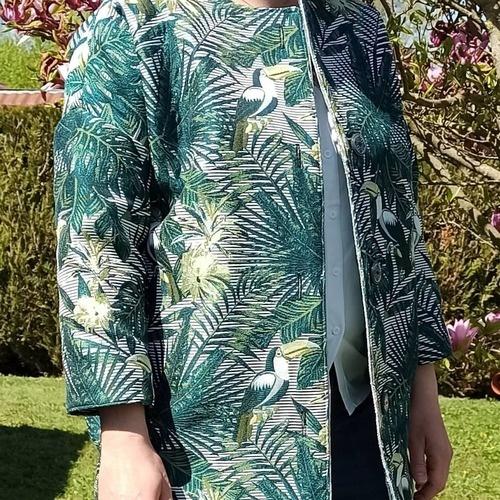 Makerist - Manteau Sylvette aux couleurs d'été - #makeristalamaison - 1