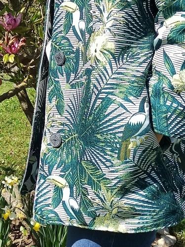 Makerist - Manteau Sylvette aux couleurs d'été - #makeristalamaison - 2