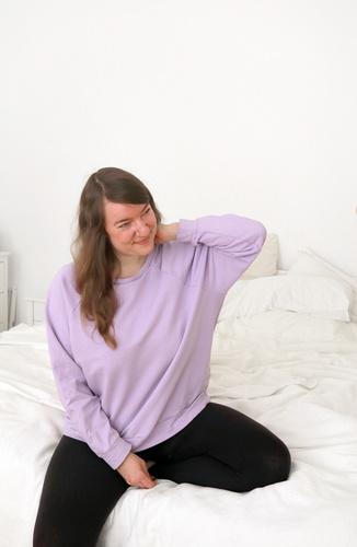 Makerist - Raglan Oversize Sweater 'Papaya' - Nähprojekte - 1