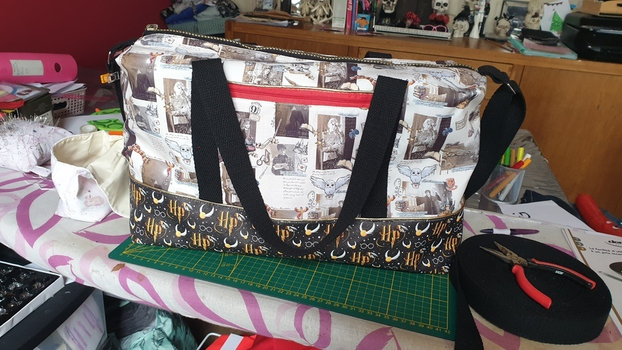 Makerist - Sac george  harry potter  - Créations de couture - 1