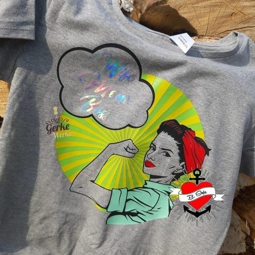 Makerist - Power Frauen  - Textilgestaltung - 2