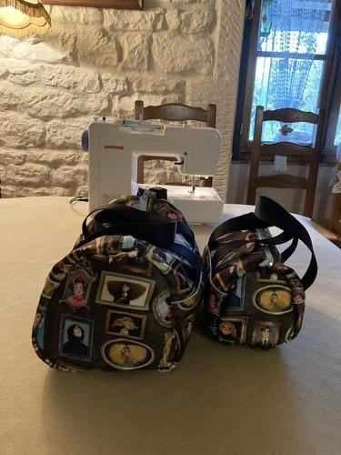 Makerist - Sacs Fripouille en tissus Harry Potter pour mes petites-filles de 9 ans 1/2 et 19 mois - Créations de couture - 1