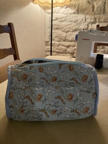 Makerist - Sacs Fripouille en tissus Harry Potter pour mes petites-filles de 9 ans 1/2 et 19 mois - Créations de couture - 3