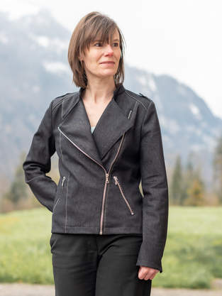 Jacke Biker-Lola von Schnittmusterlounge