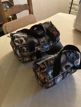 Makerist - Sacs de voyage en tissus Harry Potter pour mes petites-filles  - 1