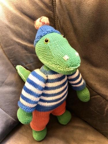 Makerist - Cord, das Krokodil - Strickprojekte - 1